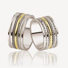 Avem cele mai creative idei pentru nunta ta!: #1020 Bangles, Bracelets, Mai, Rings, Jewelry, Fashion, Moda, Jewlery, Bijoux