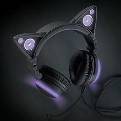 Amazon.com: Wired Cat Ear Headphones: Home Audio & Theater