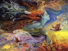 sylphs elementals | Sylphs Josephine Wall