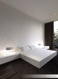 Stylish Floating Bed Design Ideas