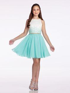 Delicate and Irresistible Chiffon/Satin Sleeved Short Little Girls Dress by Lexie Style Call to Order Your Lexie Girls Cocktail Dress Today! Junior Homecoming Dresses, Grad Dresses, Junior Dresses, 5th Grade Graduation Dresses, Kids Prom Dresses, Chiffon Dresses, Fall Dresses, Long Dresses, Dress Long