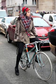 Thestreetfashion5xpro: In the Street...Spirit of Scotland Tartan #4 Milan & Paris