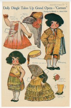 """76.2945: Dolly Dingle Takes up Grand Opera - """"Carmen"""" 
