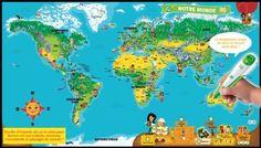 LeapFrog Tag Map - Mapamundi Interactivo (Spanish) by Leap Frog. $29.95. Este mapa interactivo, impreso por ambos lados, cobra vida con tu sistema de lectura Tag. Embárcate en una aventura alrededor del mundo, aprende cientos de datos interesantes mientras te diviertes con los más de 30 juegos y actividades.  Aprende los continentes y los países del mundo y trata de localizarlos lo más rápido que puedas con el reto del Mapamundi. Descubre las distancias y los tiempos d...