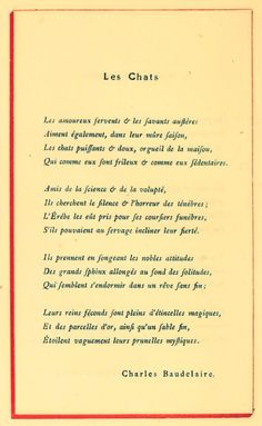 Charles Baudelaire -