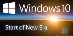 Windows 10 Features: Get Ready for Upgrade - Hidden Brains Blog
