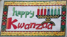 Your place to buy and sell all things handmade, Counted Cross Stitch Patterns, Cross Stitch Embroidery, Happy Kwanzaa, Freedom Of Religion, Or Mat, Habari Gani, Applique Patterns, Plastic Canvas Patterns, Coloring Pages