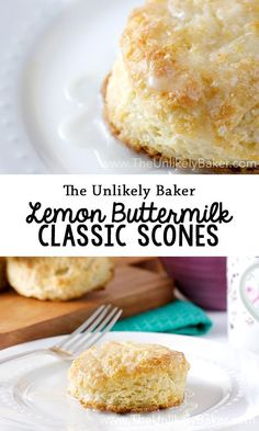 Elevate your brunch game with these light and flaky lemon buttermilk scones! Enjoy them freshly baked slathered with butter or clotted cream. Brunch Recipes, Breakfast Recipes, Dessert Recipes, Citrus Recipes, Breakfast Ideas, Rock Recipes, Vegetarian Breakfast, Dessert Ideas, Healthy Recipes