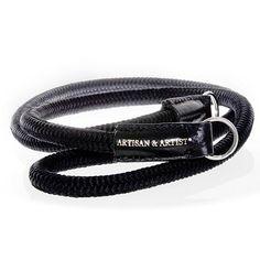 Artisan&Artist braided silk camera strap.