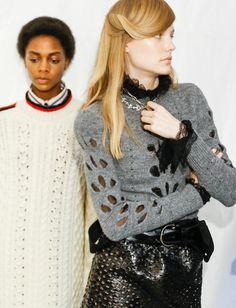 Isabel Marant a le chic pour mêler avec justesse cool, sexy et rock (photo Vogue)