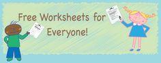 Worksheets Worksheets   Free Printable Worksheets for Teachers, Parents, and Kids