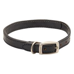 Buy Barbour Leather Dog Collar, Black Online at johnlewis.com