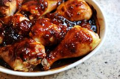 Hot and Sweet chicken wings or drumsticks. Making these for the superbowl!