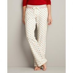 Eddie Bauer Women's Printed Knit Sleep Pants in Holiday Gifts 2012 from Eddie Bauer on shop.CatalogSpree.com, my personal digital mall.