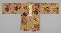 jacket in Textile Museum of Canada - wow! almost looks like a print on 1940's barkcloth