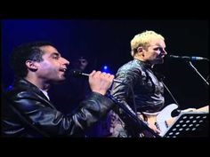 Sting and Cheb Mami-Live-Desert Rose - YouTube