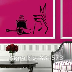 beauty salon wall stickers - Google Search
