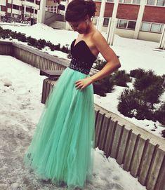 Sweetheart Tulle Prom Dress,Long Prom Dress,Sexy Girl Sweet Dress by fancygirldress, $155.00 USD