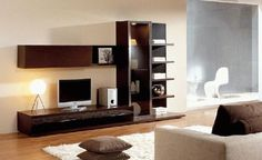 Forget About Needing Furniture! Living Room Tv, Living Room Modern, Home And Living, Halls, Muebles Living, Tv Wall Decor, Tv Furniture, Tv Unit Design, Armoire