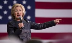 Democratic front-runner Hillary Clinton explains what she means when she says her likely Republican rival Donald Trump is a 'loose cannon' in an interview with CBS's Face the Nation on Sunday