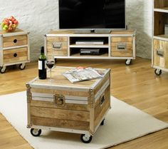 Interior designers are already all over this trend and it's easy to see why! The trunk is an ultimate style statement. It's practical (lots of storage) and really unique - the perfect piece for fashion-forward homes. £323