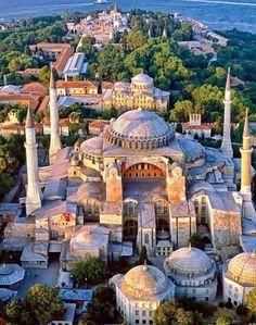 Hagia Sophia - Estambul. Arquitetura Bizantina