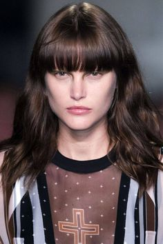 Bangs From the Spring Runways - How To Wear Bangs From the Spring Runways - Harper's BAZAAR