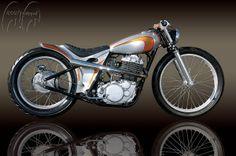 Yamaha SR400 by Salinas Boys