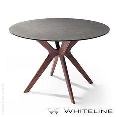 Whiteline Redondo Dining Table - LoftModern - 1