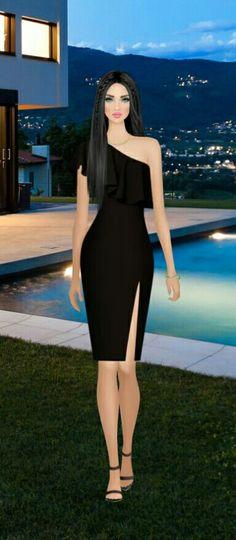 Moda Fashion, Covet Fashion, Fashion Dolls, Fashion Art, Fashion Outfits, Womens Fashion, Fashion Design, Dress Outfits, Dress Up