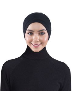 The Audrey Snow Cap Inner Hijab by EDZ is modern, modest and comfortable. Keep your hair under control with this elasticized fabric. Comfortable enough for all day. Soft, cotton, knitted fabric, lets