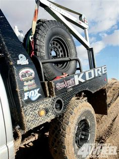 Offroad flatbed