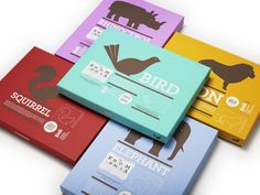 The Kingdom Animalia, a line of wooden animals and their packaging