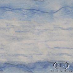 Blue Macauba Quartzite (Kitchen Design Ideas.org)  Love This Countertop