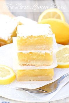 I've tried a lot of lemon bars in my day, and I've always been a little bit disappointed in the crust to lemon filling ration–until now! These really are the Best Lemon Bars I've ever had! Just check out that thick layer of lemony goodness! It's the reason these lemon bars are the best, in …