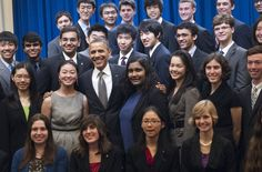 The high school competition counts among its past competitors eight Nobel Prize winners, along with chief executives, university professors and award-winning scientists.