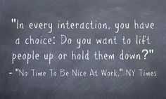 Quote Of The Day: A Corollary To The Best Piece Of Classroom Management Advice I've Heard