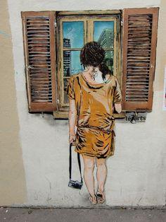 Paris Street Art - léZarts de la Bièvre