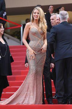 Festival de Cannes 2016. Blake Lively de Versace (1)