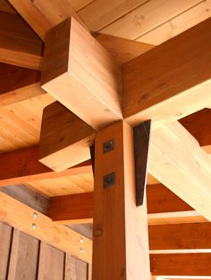 Natural Snow Home with Wooden Material for Building Construction : Stunning Wooden Ceiling Ideas Bear Basin Interior Design