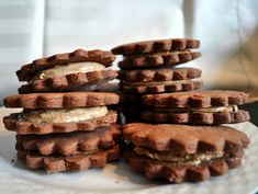 espresso mocha cookies -- these look like an excuse to have cookies for breakfast.