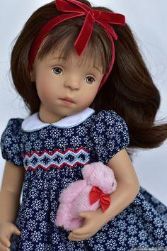 Рассказ про то, как Минушки не селятся стайками -2 / Sylvia Natterer, Сильвия Наттерер. Коллекционно-игровые куклы / Бэйбики. Куклы фото. Одежда для кукол Dolls Dolls, Girl Dolls, Petit Collin, White Balloons, Wellie Wishers, Doll Accessories, Smocking, Doll Clothes, Sewing