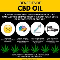 Benefits of CBD OIL: CBD oil is a natural and non-psychoactive cannabinoid derived from the hemp plant some of the benefits of CBD are: Epilepsy, Ptsd, Hemp, Anxiety, Depression, Benefit, Therapy, Plant, King