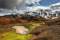 When water means life - Kerlingarfjöll mountain, Iceland