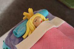 Princess & the Pea Cake by @Cynthia Taylor