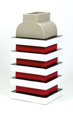 Ettore Sottsass, Vase, 2003