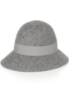 Stella McCartney Wide-brim wool-felt hat