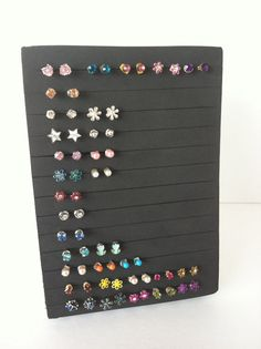 Post Earring Holder - Jewelry Organizer