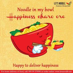 Happiness is noodles