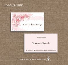 printable stylish elegant teacher tutor education business card calling card for your business in a choice of 4 colours
